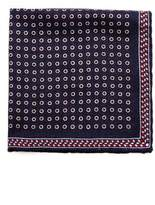 Brunello Cucinelli Geometric-print Silk Pocket Square