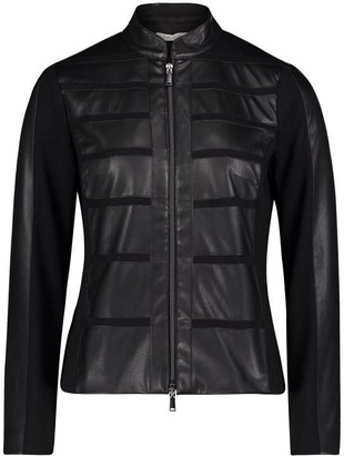 Betty Barclay Faux Leather Jacket