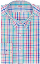 Izod Patterned Dress Shirt-Big & Tall