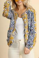 Umgee USA Floral Print Jacket