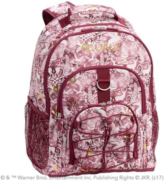 Pottery Barn Teen HARRY POTTER Gear-Up Magical Damask Backpack, Burgundy