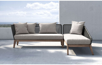 Modloft Netta Sectional Right-Facing Sofa