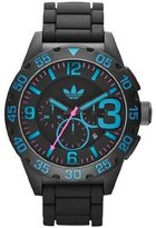adidas Men's Newburgh ADH2886 Rubber Quartz Watch with Dial