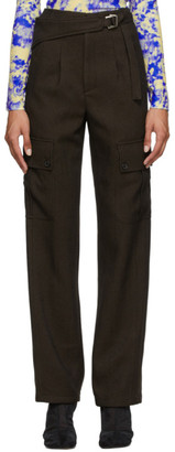 ANDERSSON BELL Brown Katia Belted Trousers