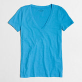 J.Crew Factory Featherweight slub cotton V-neck T-shirt