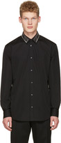 DSQUARED2 Black Safety Pin Shirt