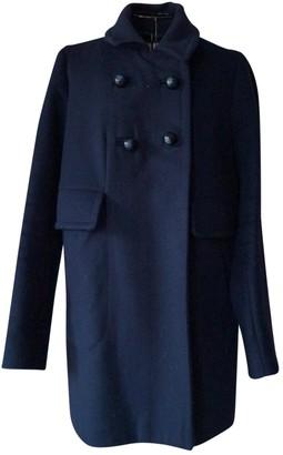 Paul & Joe Sister Navy Wool Coat for Women
