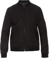 A.P.C. Theo cotton-blend bomber jacket