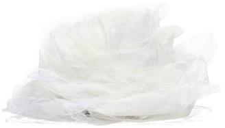 Stephen Jones Rose Tulle Veil Fascinator - Womens - White