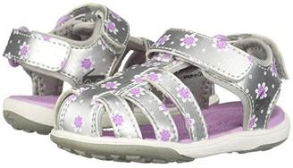 See Kai Run Kids Paley II (Toddler/Little Kid) (Silver/Purple) Girl's Shoes
