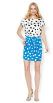 Diane von Furstenberg Odea Printed Silk Jersey Pocket Dress