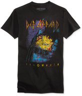 New World Men's Def Leppard Graphic-Print Cotton T-Shirt