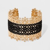 SUGARFIX by BaubleBar Filigree and Lace Cuff Bracelet