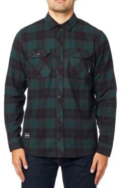 Fox Men's Cotton Long Sleeve Flannel