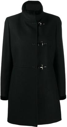 Fay Single Breasted Long Sleeve Coat