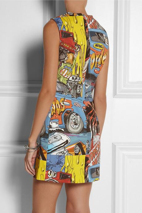 J.W.Anderson Printed cotton-canvas dress