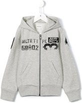 Diesel patch embroidered hoodie - kids - Cotton/Polyester - 6 yrs