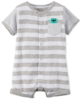Carter's Striped Monster Romper, Baby Boys (0-24 months)
