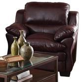 Sears 'Corrine' Leather-Look Chair