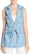 Sanctuary Day Trip Chambray Vest
