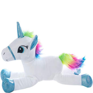 Yuka Magic Sparkle White Unicorn Plushy