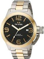 TW Steel Men's CB42 Analog Display Quartz Two Tone Watch