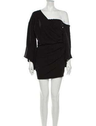 IRO One-Shoulder Mini Dress w/ Tags Black
