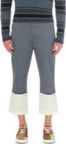 Loewe Fisherman Regular-fit Straight Cotton Trousers