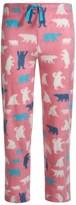 Hatley Little Blue House by Bear Fuzzy Fleece Pajama Pants (For Big Girls)