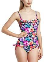 Pour Moi? Women's Polynesia Bandeau Floral Swimsuit