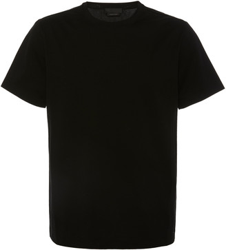 Prada Cotton-Blend Crewneck T-Shirt