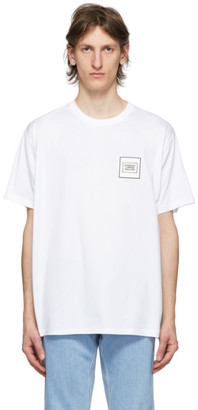 Burberry White Logo Karlford T-Shirt