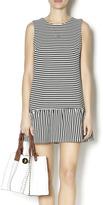 Luce C. Striped Drop Waist Dress