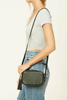 Forever 21 FOREVER 21+ Faux Leather Mini Crossbody