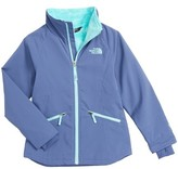 The North Face Girl's Mossbud Wind Resistant Jacket