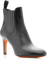 Santoni Lady Guanto Demi Leather Boots