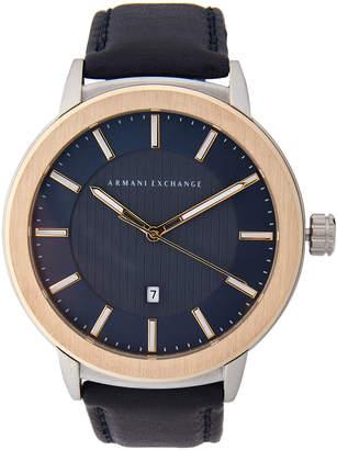 Armani Exchange AX1463 Two-Tone Watch
