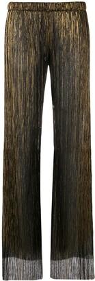 Fisico sheer straight-leg trousers