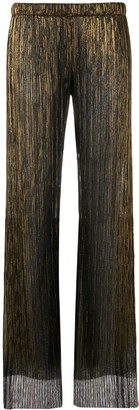 Fisico Sheer Straight-Leg Trousers