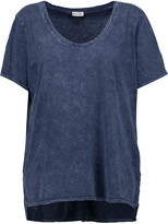 Splendid Distressed cotton T-shirt