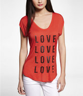 Express Luxe Dolman Graphic Tee