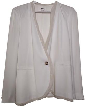 Helmut Lang White Viscose Jackets