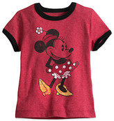 Disney Minnie Mouse Classic Ringer Tee for Girls