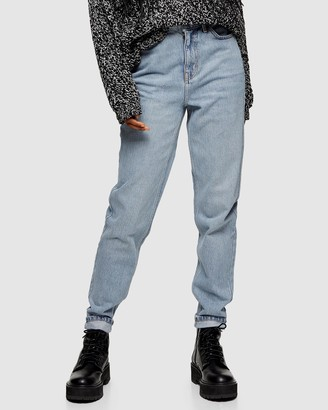 Topshop Mom Tapered Jeans