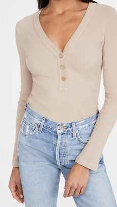 Citizens of Humanity Scarlett Rib Henley Top