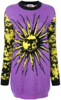 Fausto Puglisi sun intarsia knit dress