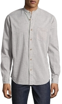 Tailor Vintage Cotton Mandarin Collar Sportshirt