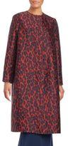 Lanvin Leopard Print Jacket