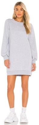 LAmade Just Landed Pullover Sweatshirt Dress