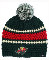 '47 Women's Minnesota Wild Leslie Pom Knit Hat